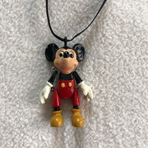 Vintage Disney Mickey Mouse Necklace